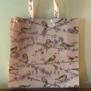Ted Baker shopper, peach birds